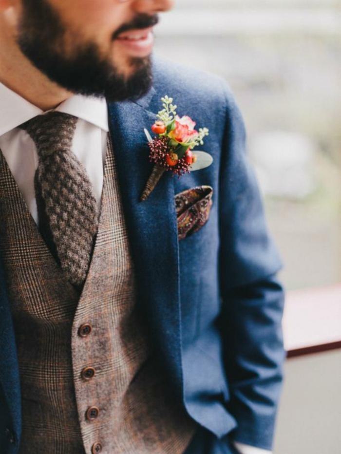 look réussi idée tenue mariage homme