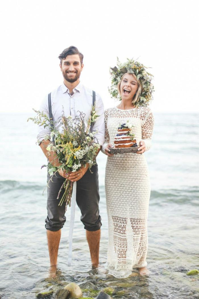 mariage boho idée tenue mariage homme