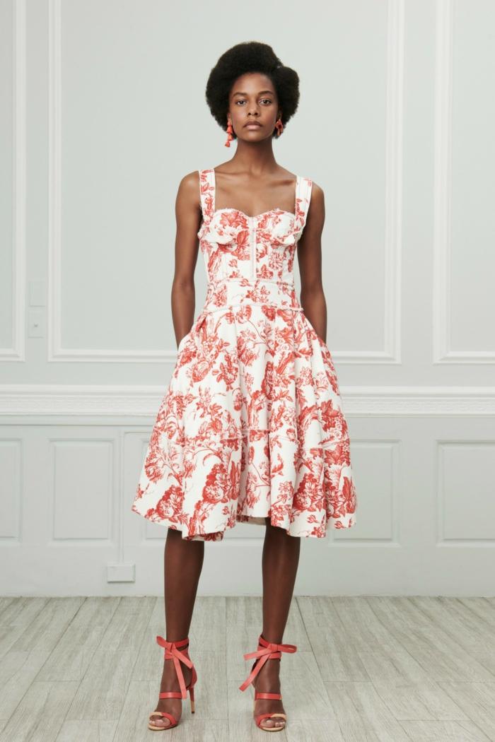 mode 2019 toile de jouy robe