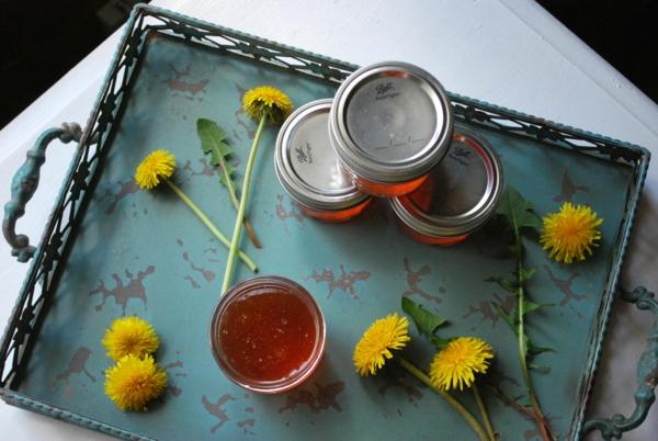 recette confiture de fleurs de pissenlit