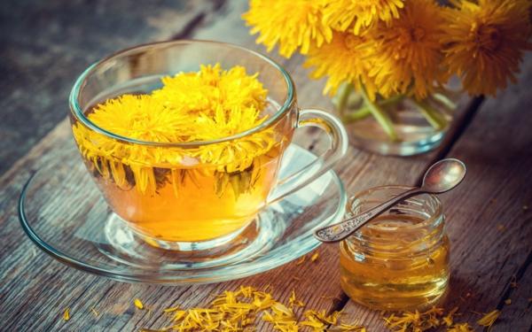 recette de tisane de fleurs de pissenlit