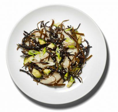 idée salade d'algues
