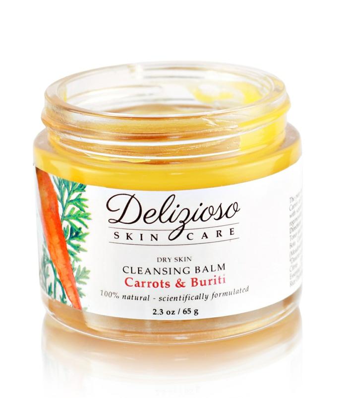 soin pour la peau sèche avec huile de buriti