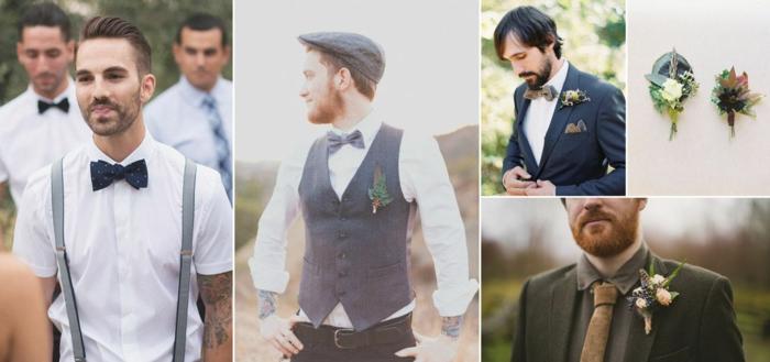 style boho idée de tenue mariage homme