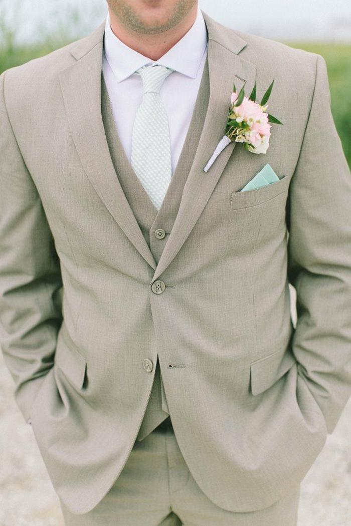 tenue élégante idée de tenue mariage homme