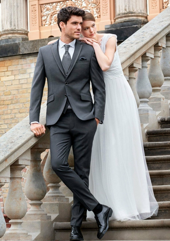 tenue mariage homme costume 3 pièces