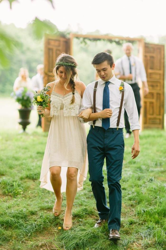 tenue mariage homme mariage champêtre