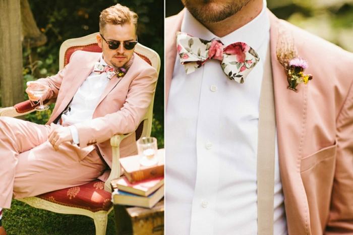 tenue mariage homme miser sur les couleurs