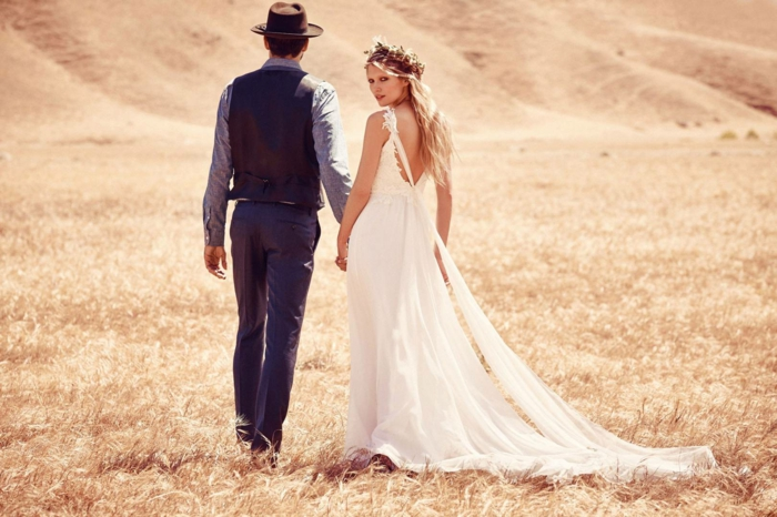 tenue mariage homme style champêtre