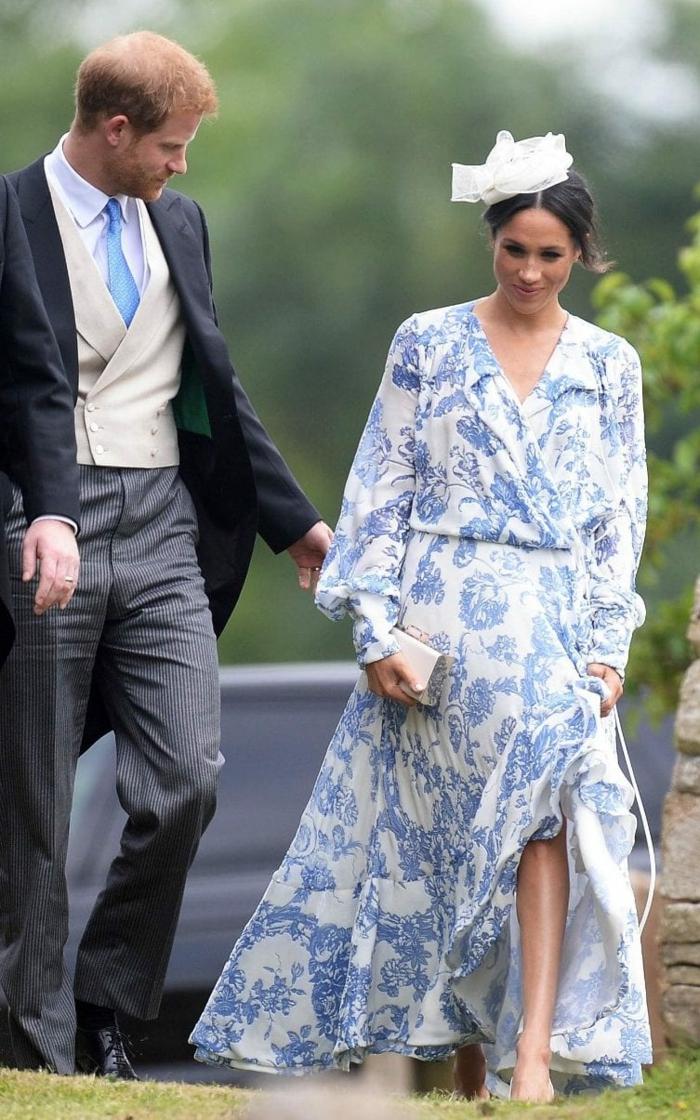 toile de jouy meghan markle robe