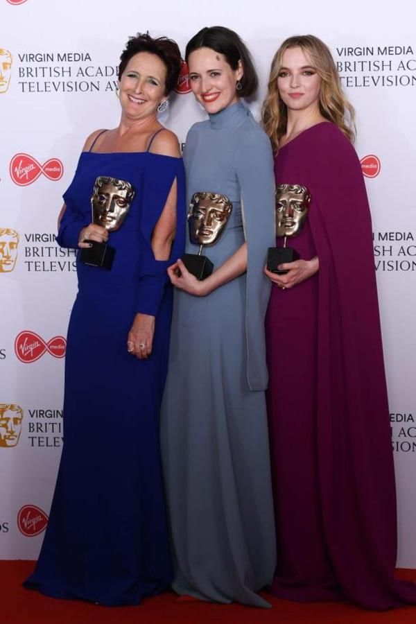 BAFTA TV AWARDS 2019 Fiona Shaw, Phoebe Waller-Bridge et Jodie Comer