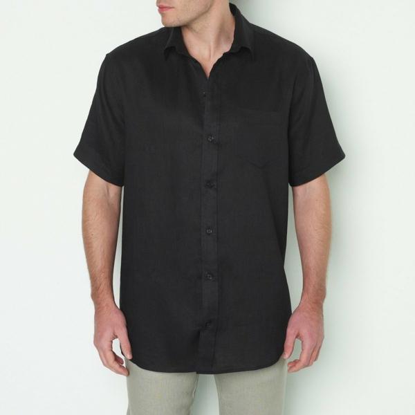 Comment valoriser votre silhouette avec la chemise homme grande taille chemise noire
