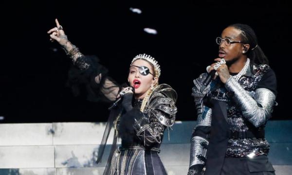 Madonna costumes cuirassés