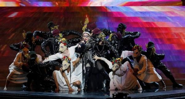 Madonna un scénario étrange