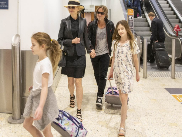 Nicole Kidman en voyage