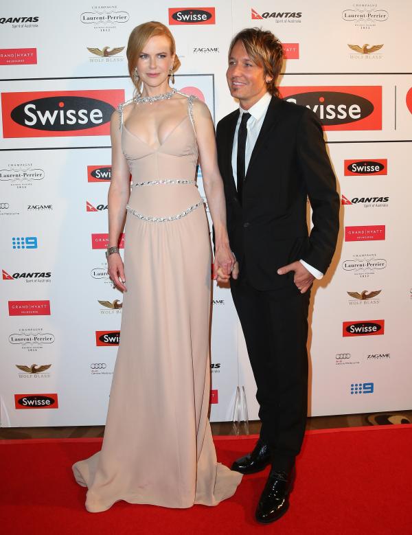 Nicole Kidman un couple heureux