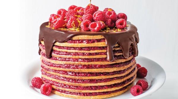Recette framboisier facile à préparer crêpes vanille chocolat