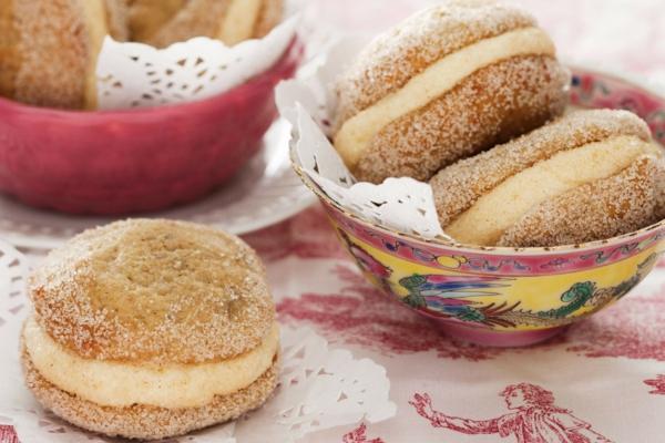 Recette whoopies - préparer les gâteaux sandwiches à la crème moelleuse whoopies à la banane et cannelle
