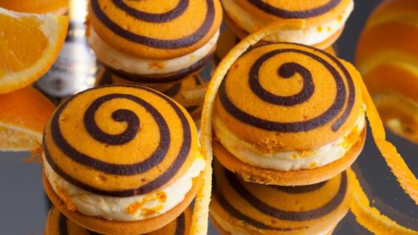 Recette whoopies - préparer les gâteaux sandwiches à la crème moelleuse whoopies à l'orange et à la citrouille