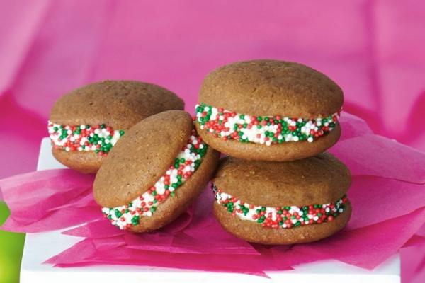 Recette whoopies - préparer les gâteaux sandwiches à la crème moelleuse whoopies crème aux perles de sucre