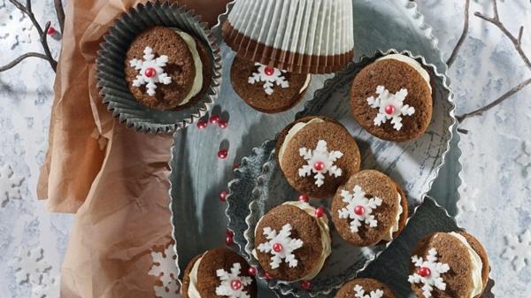 Recette whoopies - préparer les gâteaux sandwiches à la crème moelleuse whoopies gâteaux de noël