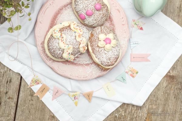 Recette whoopies - préparer les gâteaux sandwiches à la crème moelleuse whoopies gâteaux pâques