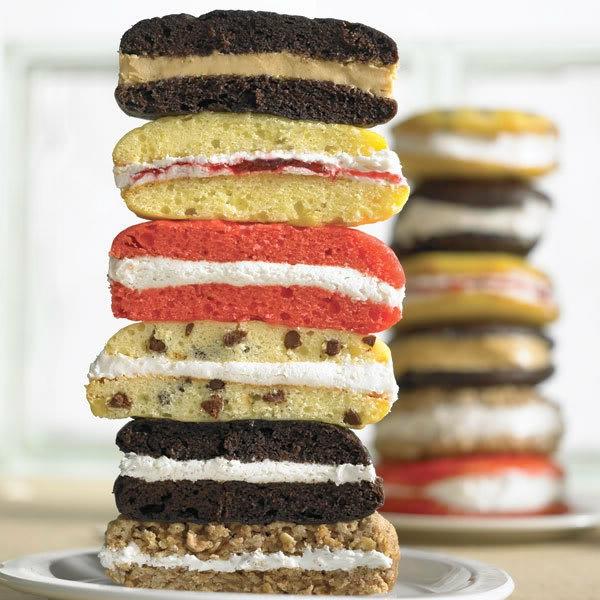 Recette whoopies - préparer les gâteaux sandwiches à la crème moelleuse whoopies gâteaux
