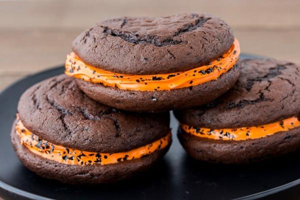 Recette whoopies - préparer les gâteaux sandwiches à la crème moelleuse whoopies pour halloween