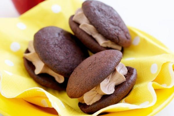 Recette whoopies - préparer les gâteaux sandwiches à la crème moelleuse whoopies sans gluten