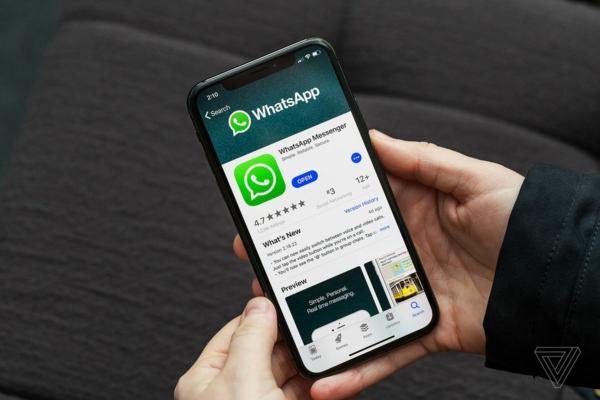 application whatsapp publicités