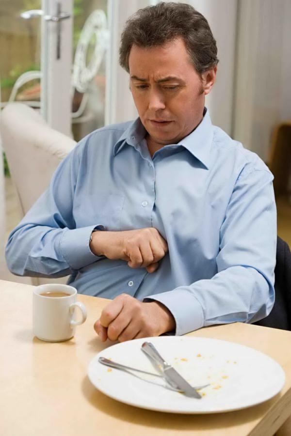 bicarbonate de sodium après un repas
