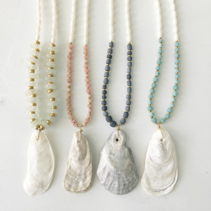 bijoux coquillage idée inspirante