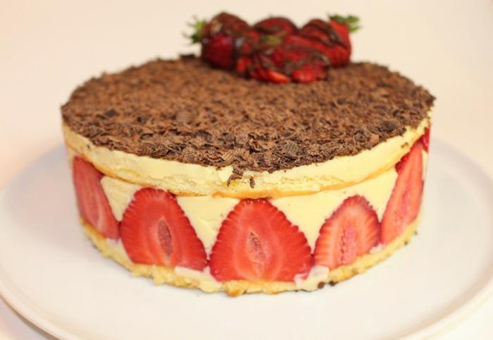 dessert estival idée recette fraisier