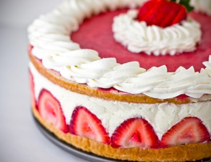 dessert français recette fraisier