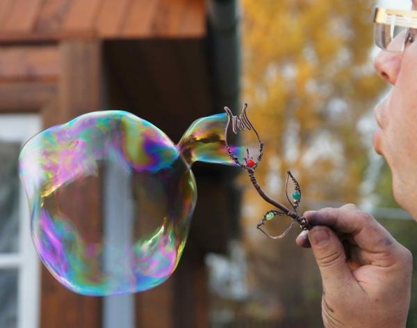diy baguette à bulles recette bulles de savon