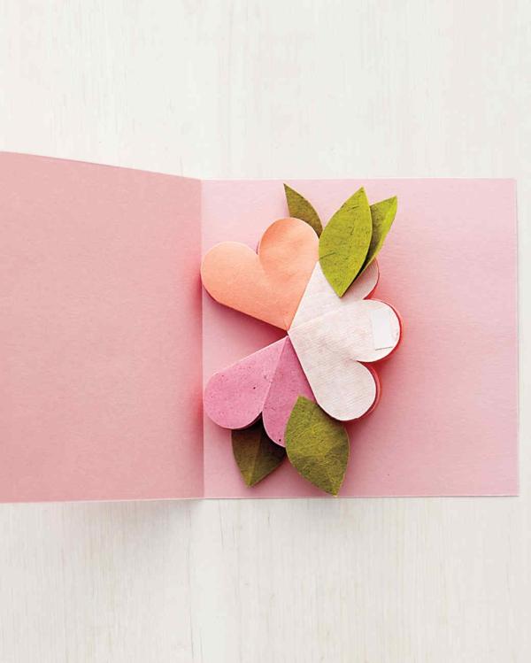 diy carte fête des mères personnalisée pop up fleur