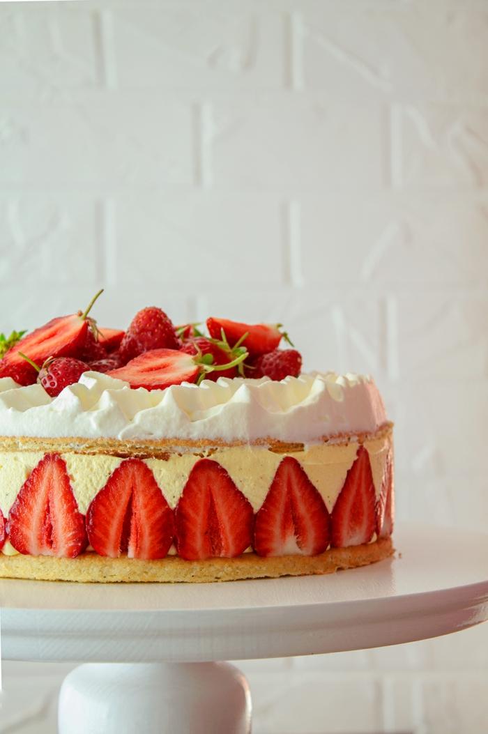 diy recette fraisier