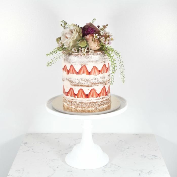 gâteau anniversaire recette fraisier