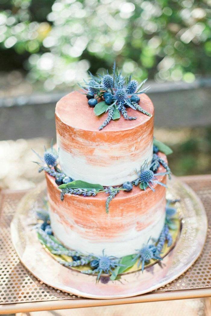gâteau de mariage 2019 idée