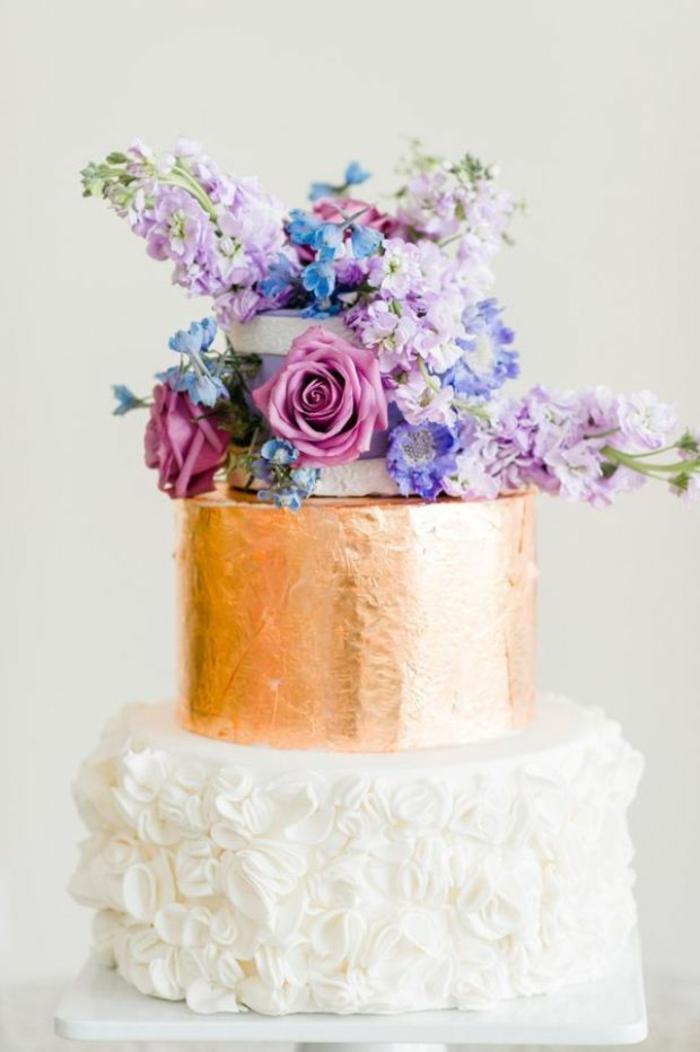 gâteau de mariage 2019