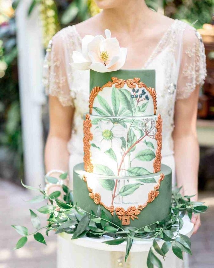 gâteau de mariage impressionnant 2019