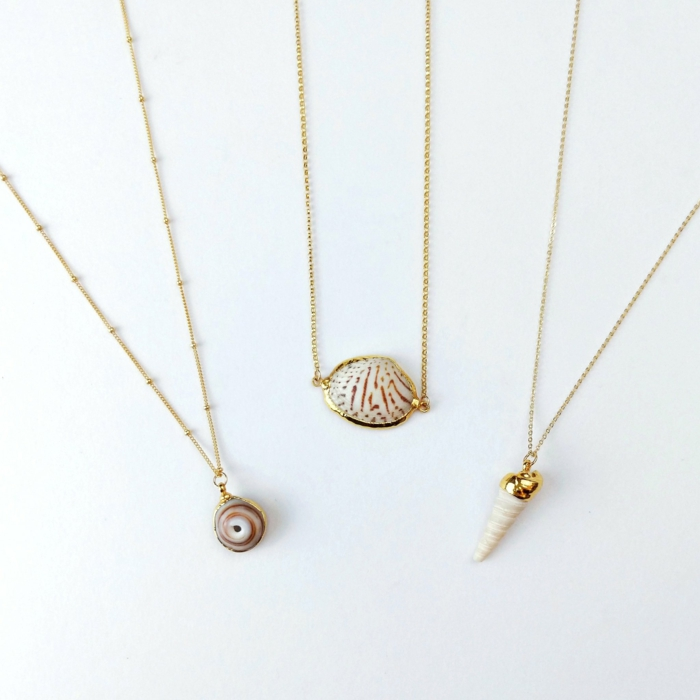 idée cadeau femme bijoux coquillage