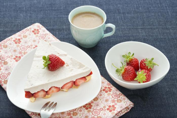 idée de dessert facile recette fraisier