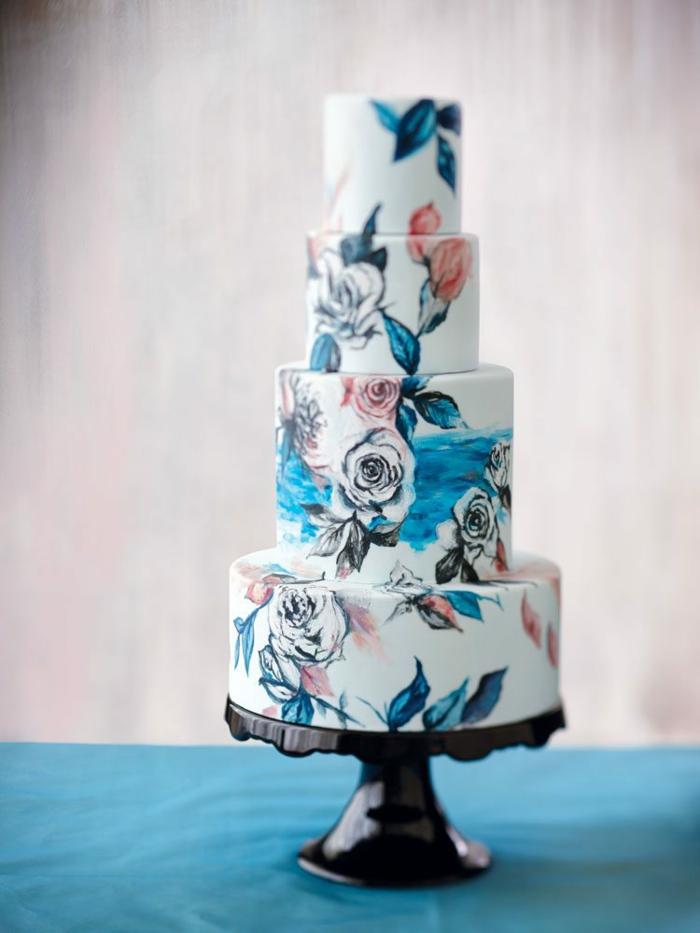 idée unique gâteau de mariage 2019