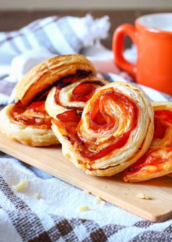 idée wrap apéro tortilla bacon cheddar
