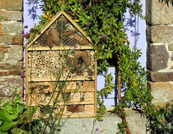 jardin vivant biodiversité hôtel à insectes