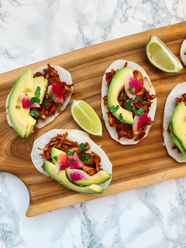 jicama des tacos