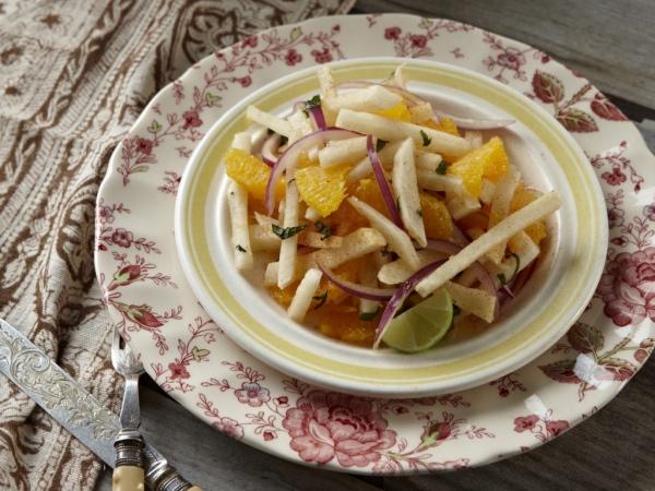 jicama oranges et citrons