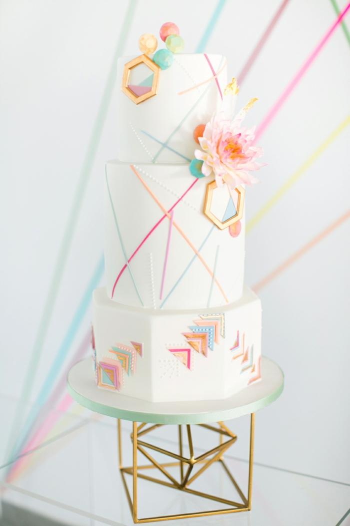 joli gâteau de mariage 2019
