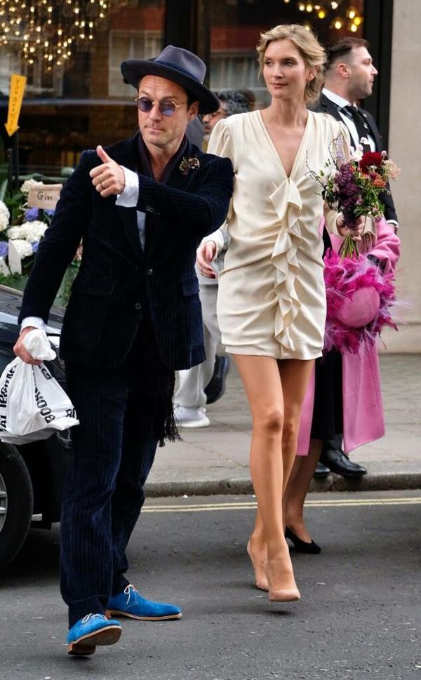 mariage star jude law et psychologue phillipa coan